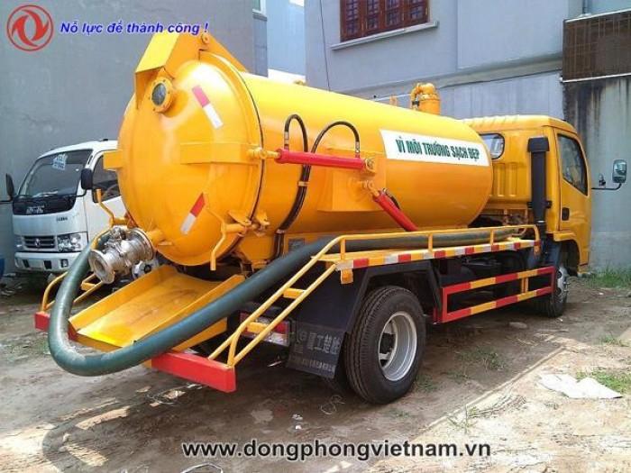 Xe hút chất thải Dongfeng 3 khối