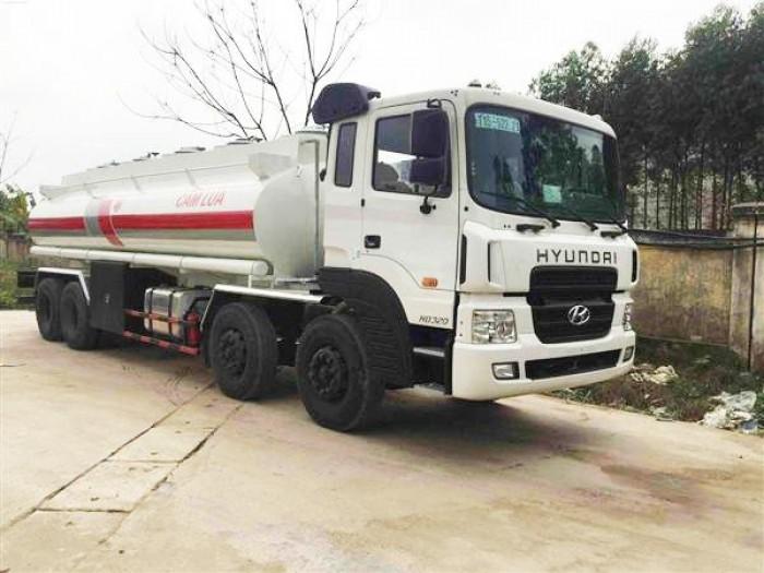 Xe bồn chở xăng Hyundai 21 khối 2