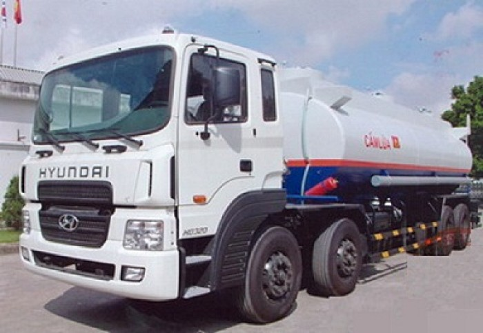 Xe bồn chở xăng Hyundai 21 khối 0