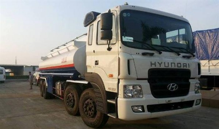 Xe bồn chở xăng Hyundai 21 khối 1