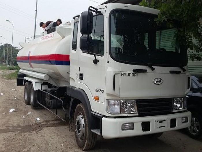 Xe chở xăng dầu Hyundai 16 khối