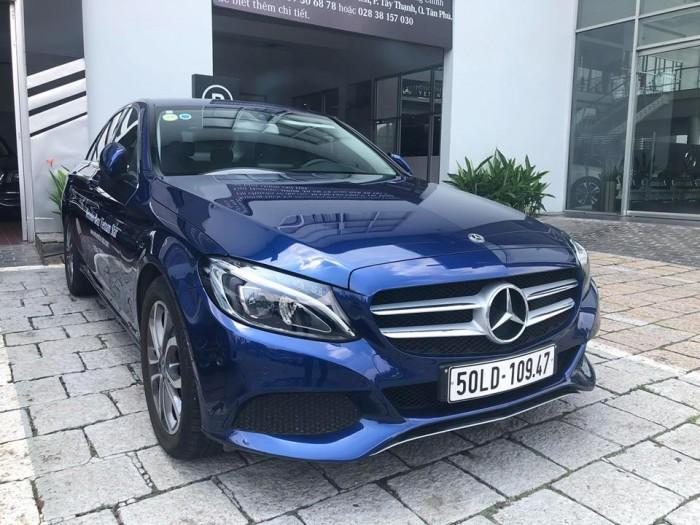 Mercedes C200 lăn bánh 1.000km , xe chính hãng, hổ trợ vay vốn tầm 7trieu / tháng 2