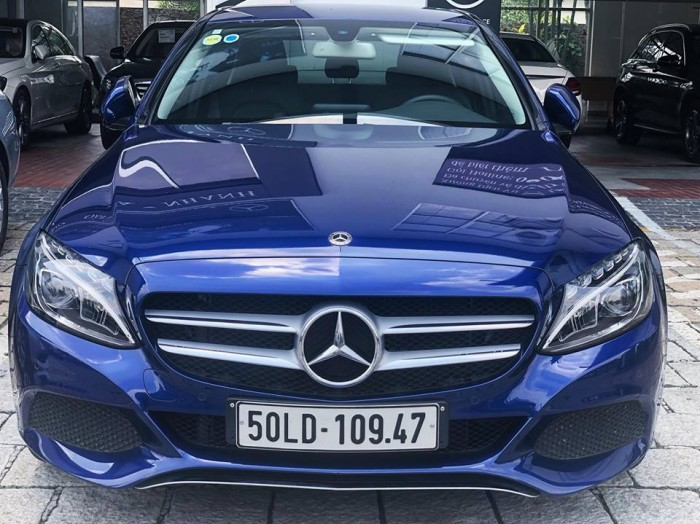 Mercedes C200 lăn bánh 1.000km , xe chính hãng, hổ trợ vay vốn tầm 7trieu / tháng 3