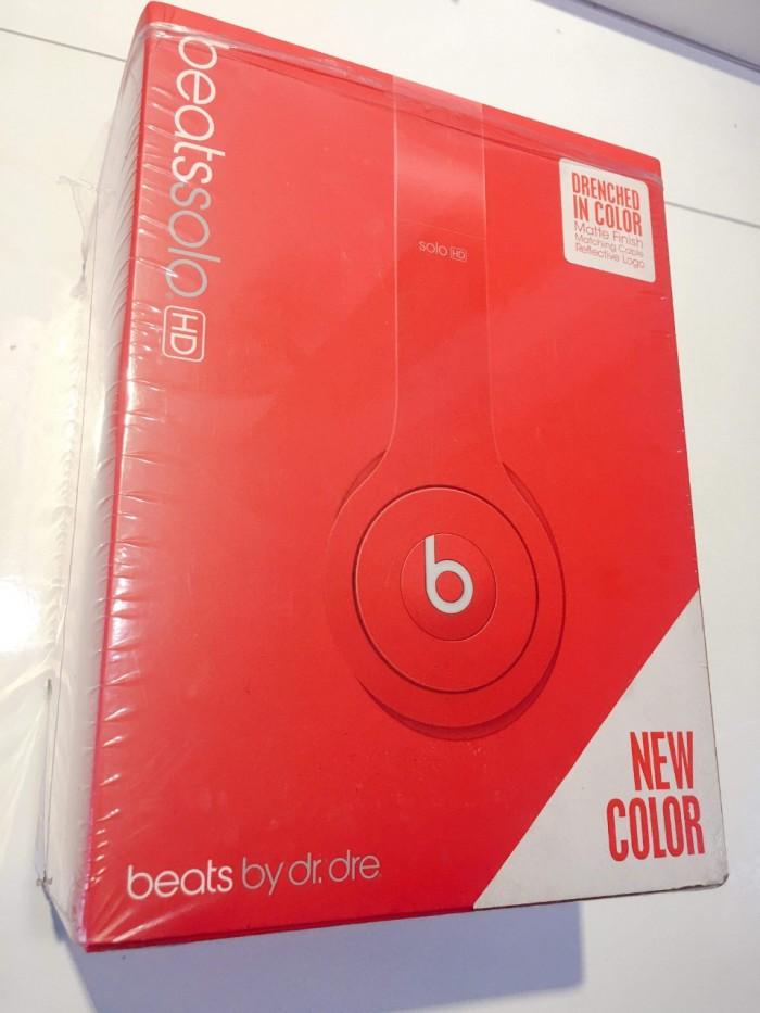 Tai Nghe Beats Solo HD ( Có Dây ) - Màu Đỏ - New4