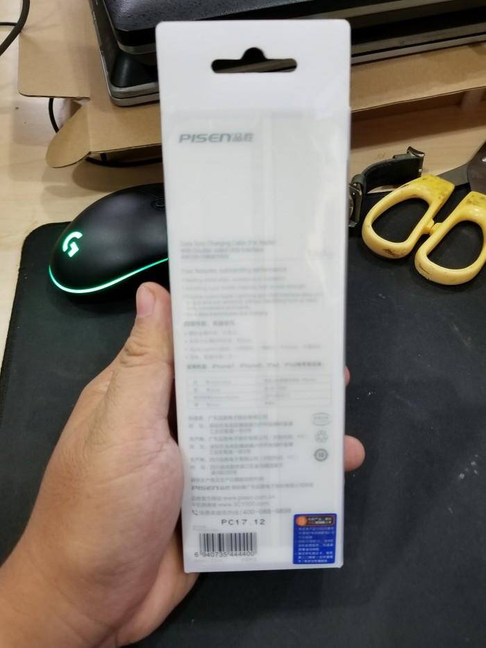 Cáp Lightning Pisen - Cho Iphone 5 6 7 8 X - Chính Hãng1