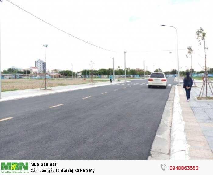 Cần bán gấp lô đất thị xã Phú Mỹ