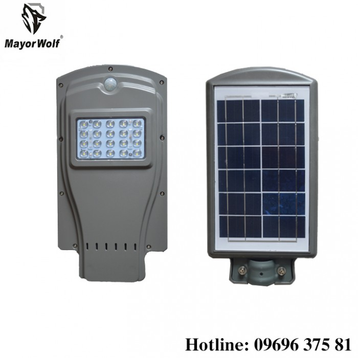 Đèn năng lượng mặt trời liền thể 20W11