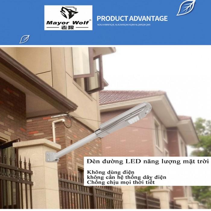 Đèn năng lượng mặt trời liền thể 20W9