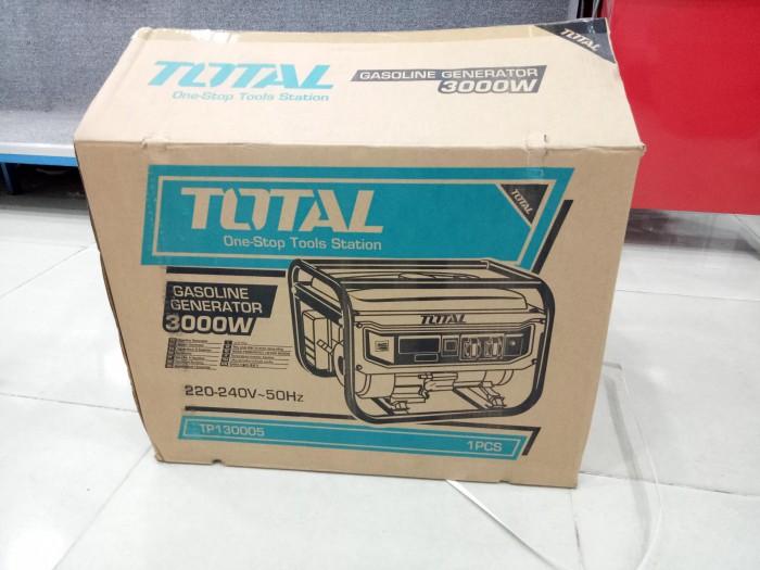 Thùng đóng gói máy phát điện chạy xăng Total 3kw TP130005