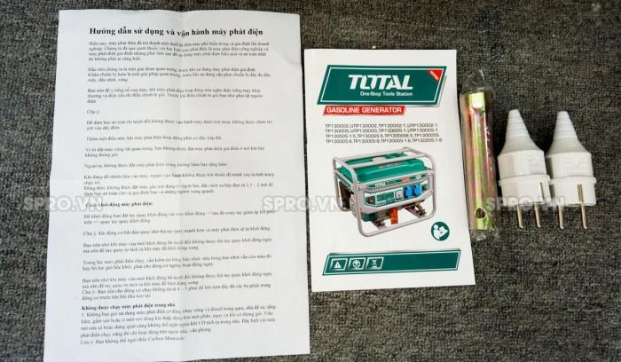 Linh kiện máy phát điện chạy xăng Total 3kw TP130005