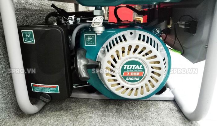 Tay kéo giật nổ máy phát điện chạy xăng Total 3kw TP130005