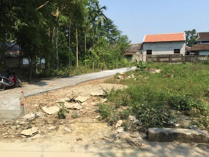 Bán đất 2 mặt tiền kiệt 109 Minh Mạng.Thủy Xuân.Huế DT 109m2