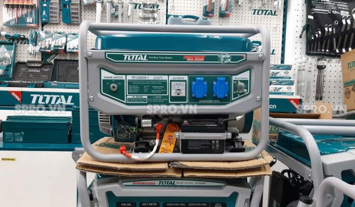 Máy phát điện chạy xăng total 3kw Tp130005-14