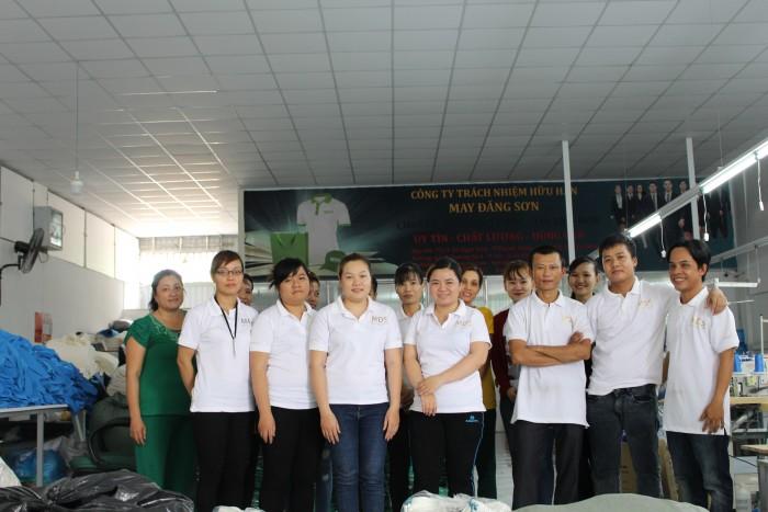 May áo thun đồng phục chất lượng giá rẻ tại TPHCM