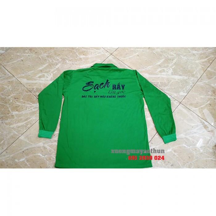 áo thun tay dài nam nữ, trùm may áo thun tay dài giá rẻ tại tphcm1