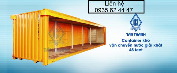 Bán và cho thuê Container văn phòng, kho, lạnh, WC 6