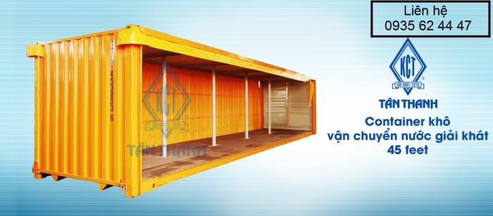 Bán và cho thuê Container văn phòng, kho, lạnh, WC 1