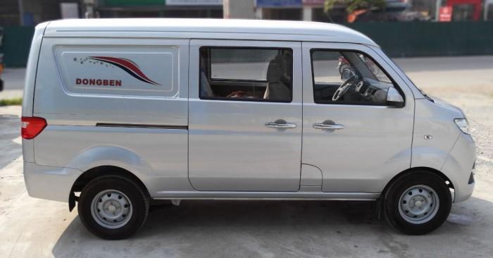 Xe tải Van DongBen 5 chỗ / tải 499kg chạy trong Sài Gòn 24h - không cấm tải - không cấm giờ - 3