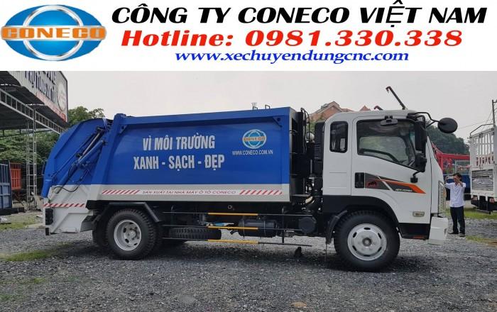 Bán xe ép rác Isuzu 11 khối nhập khẩu Hàn Quốc - Vay 90%
