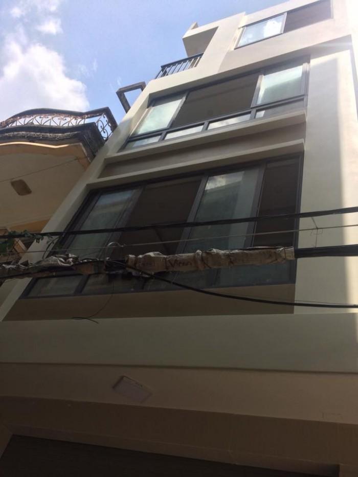 Bán nhà phân lô Yên Lãng, Kinh doanh/Ô tô. 5 tầng x 50m2