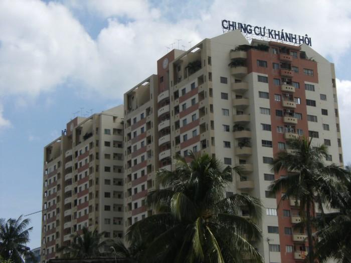 Cần bán gấp căn hộ Khánh Hội 1, Dt 82m, 2 phòng ngủ, nhà rộng lầu cao thoáng mát