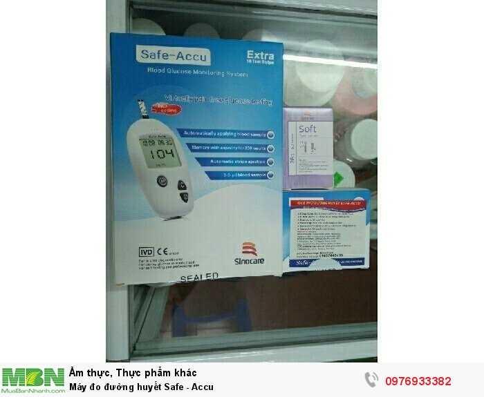 Máy đo đường huyết Safe - Accu1