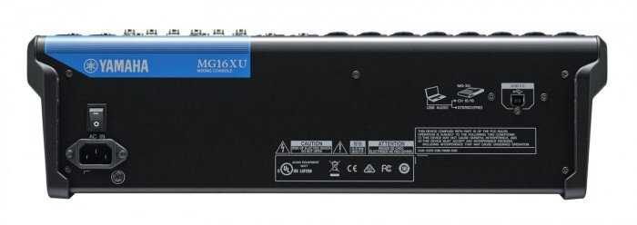 Mixer Yamaha MG16XU3