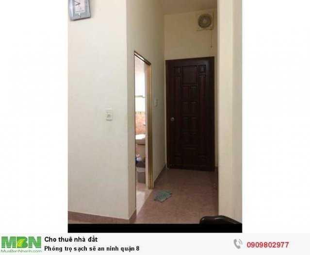 Phòng trọ sạch sẽ an ninh quận 8