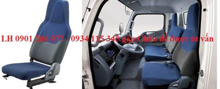 Bán xe tài Mitsubishi Fuso Canter6.5 tấn/giá tốt/trả góp 70%/thủ tục đơn giản/giao xe ngay 3