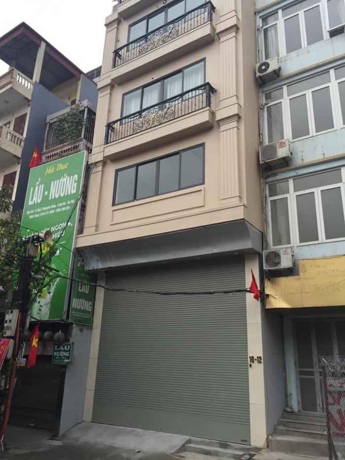 Cho thuê mặt phố  Khuất Duy Tiến, Thanh Xuân,  80m2, mt 8 m,7 tầng