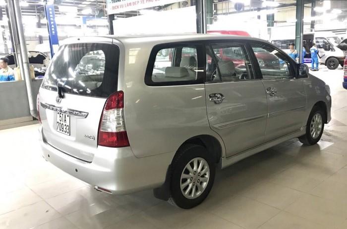 Bán Toyata Innova sx 2013 số tự động màu bạc 8