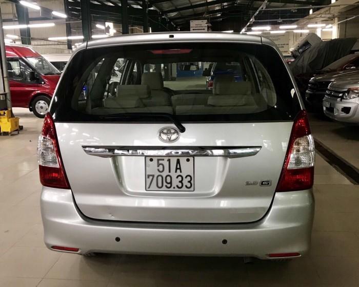 Bán Toyata Innova sx 2013 số tự động màu bạc 6