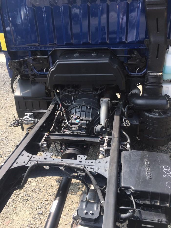 Xe tải Hyundai Mighty 110s 6.2 tấn nhập thùng mui bạt 5