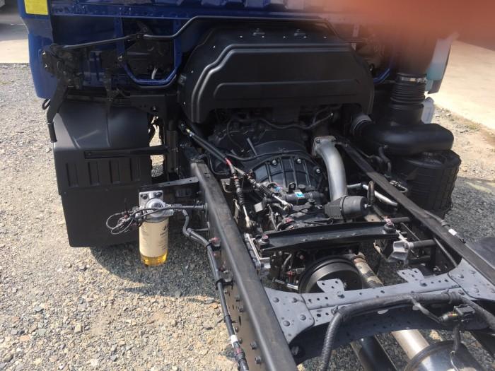 Xe tải Hyundai Mighty 110s 6.2 tấn nhập thùng mui bạt 11