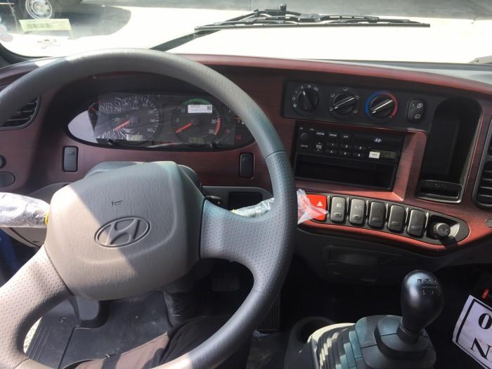 Xe tải Hyundai Mighty 110s 6.2 tấn nhập thùng mui bạt 14
