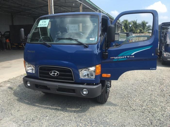Xe tải Hyundai Mighty 110s 6.2 tấn nhập thùng mui bạt 13