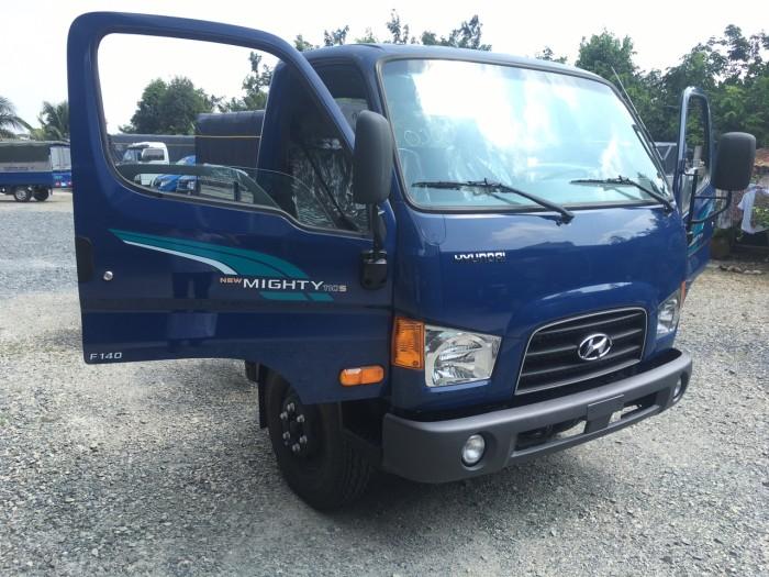 Xe tải Hyundai Mighty 110s 6.2 tấn nhập thùng mui bạt 10