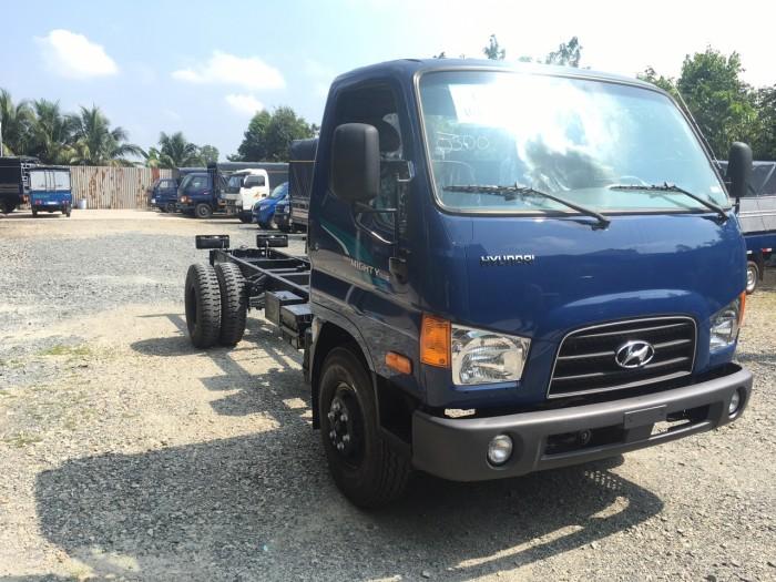 Xe tải Hyundai Mighty 110s 6.2 tấn nhập thùng mui bạt 9