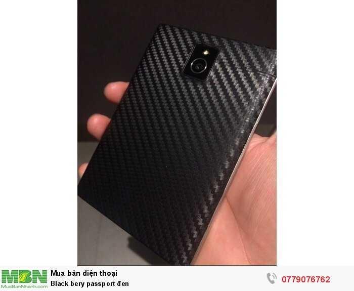 Black bery passport đen1