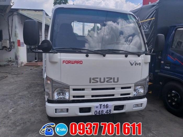 Xe tải Isuzu 1t9 thùng dài 6m2 giá rẻ trả góp toàn quốc 1