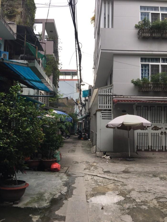 Bán nhà Hẻm 648 Cách Mạng Tháng Tám (5 x 4) 1 trệt, 1 lầu, cách hẻm xe tải 10m