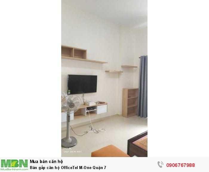 Bán gấp căn hộ OfficeTel M-One Quận 7