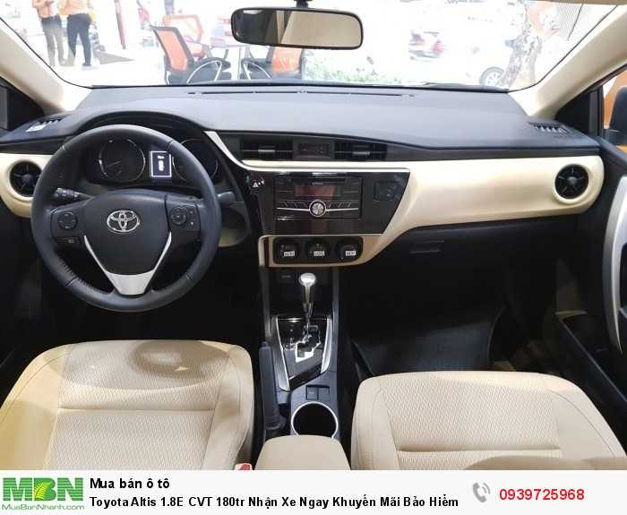 Toyota Altis 1.8E CVT 180tr Nhận Xe Ngay Khuyến Mãi Bảo Hiểm – Phụ Kiện – Giảm Tiền Mặt