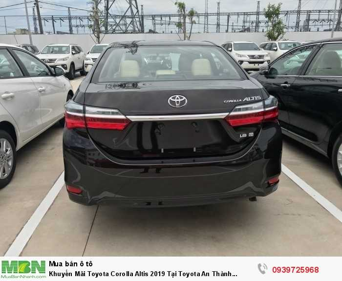 Khuyến Mãi Toyota Corolla