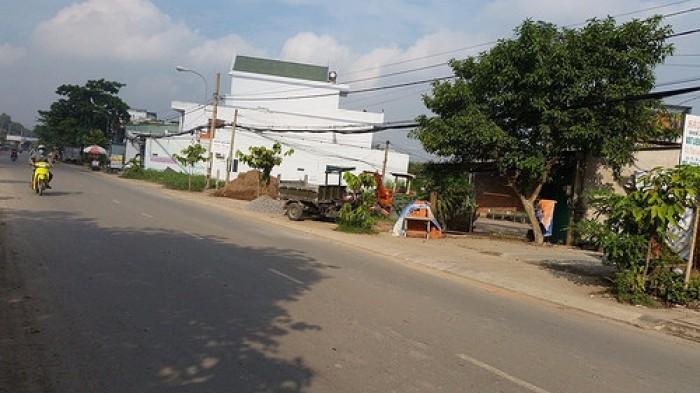 Bán Gấp Lô Đất 100M2/349Tr Mt Huỳnh Hữu Trí-Liền Kề Ubnd Bình Chánh