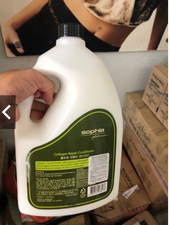 Dầu xả phục hồi Sophia Platinum Collagen Repair Conditioner 3500ml0