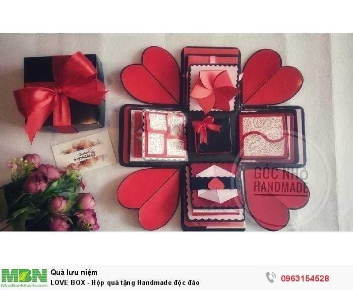 LOVE BOX - Hộp quà tặng Handmade độc đáo0