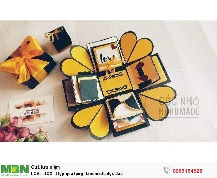 LOVE BOX - Hộp quà tặng Handmade độc đáo1