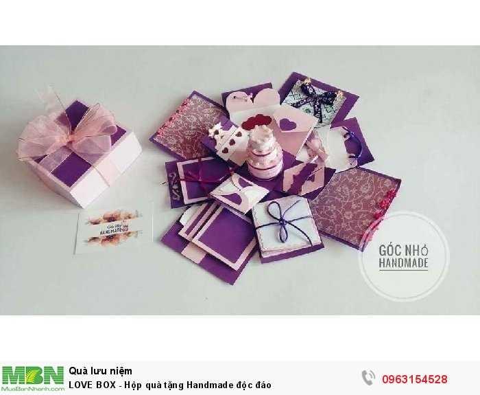 LOVE BOX - Hộp quà tặng Handmade độc đáo2
