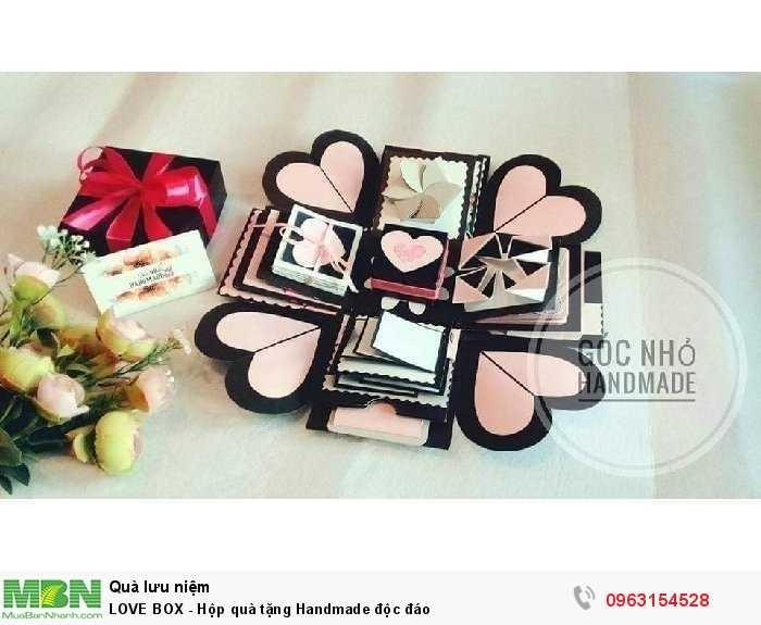 LOVE BOX - Hộp quà tặng Handmade độc đáo3